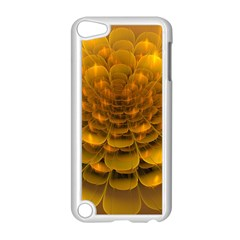Yellow Flower Apple Ipod Touch 5 Case (white) by Simbadda
