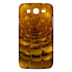 Yellow Flower Samsung Galaxy Mega 5 8 I9152 Hardshell Case  by Simbadda
