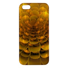 Yellow Flower Iphone 5s/ Se Premium Hardshell Case by Simbadda