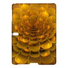 Yellow Flower Samsung Galaxy Tab S (10 5 ) Hardshell Case  by Simbadda