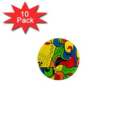 Mexico 1  Mini Magnet (10 Pack)  by Valentinaart