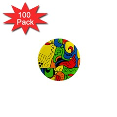 Mexico 1  Mini Magnets (100 Pack)  by Valentinaart