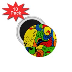 Mexico 1 75  Magnets (10 Pack)  by Valentinaart