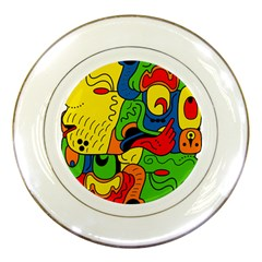 Mexico Porcelain Plates by Valentinaart