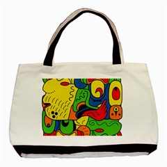 Mexico Basic Tote Bag (two Sides) by Valentinaart