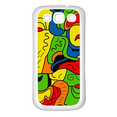 Mexico Samsung Galaxy S3 Back Case (white) by Valentinaart