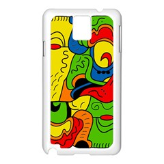 Mexico Samsung Galaxy Note 3 N9005 Case (white) by Valentinaart