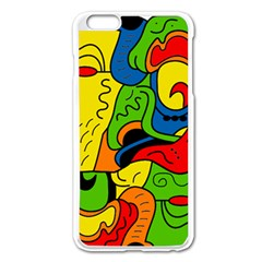 Mexico Apple Iphone 6 Plus/6s Plus Enamel White Case by Valentinaart