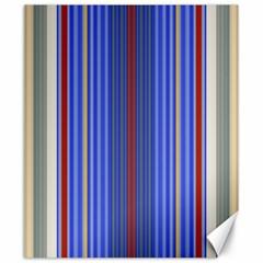 Colorful Stripes Canvas 20  X 24
