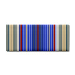 Colorful Stripes Cosmetic Storage Cases by Simbadda