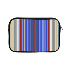 Colorful Stripes Apple Ipad Mini Zipper Cases by Simbadda