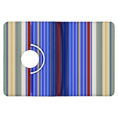 Colorful Stripes Kindle Fire Hdx Flip 360 Case by Simbadda