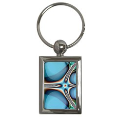 Fractal Beauty Key Chains (rectangle)  by Simbadda