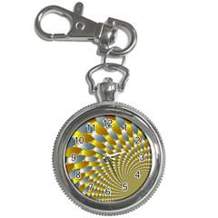 Fractal Spiral Key Chain Watches by Simbadda