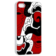 Mexico Apple Iphone 4/4s Seamless Case (white) by Valentinaart
