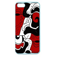 Mexico Apple Seamless Iphone 5 Case (color) by Valentinaart