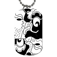 Mexico Dog Tag (two Sides) by Valentinaart