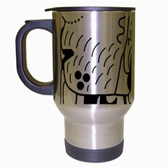 Mexico Travel Mug (silver Gray) by Valentinaart