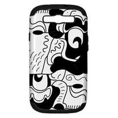 Mexico Samsung Galaxy S Iii Hardshell Case (pc+silicone) by Valentinaart