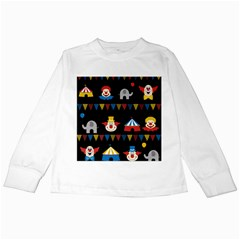 Circus  Kids Long Sleeve T Shirts by Valentinaart