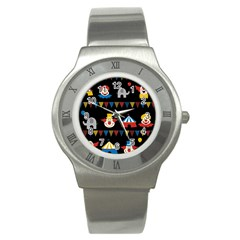 Circus  Stainless Steel Watch by Valentinaart