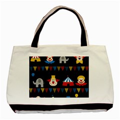 Circus  Basic Tote Bag by Valentinaart