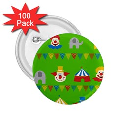 Circus 2 25  Buttons (100 Pack)  by Valentinaart