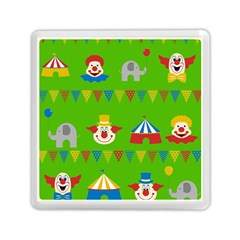Circus Memory Card Reader (square)  by Valentinaart