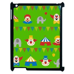 Circus Apple Ipad 2 Case (black) by Valentinaart