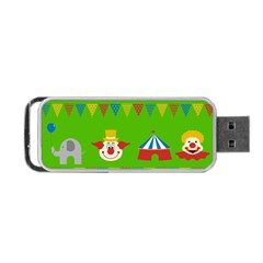 Circus Portable Usb Flash (two Sides) by Valentinaart