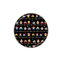 Circus Hat Clip Ball Marker (4 Pack) by Valentinaart