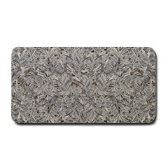 Silver Tropical Print Medium Bar Mats by dflcprints