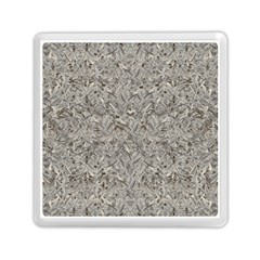 Silver Tropical Print Memory Card Reader (square)  by dflcprints