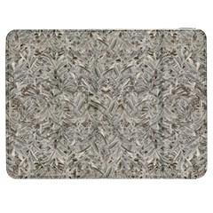 Silver Tropical Print Samsung Galaxy Tab 7  P1000 Flip Case by dflcprints