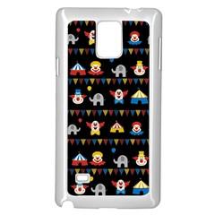 Circus Samsung Galaxy Note 4 Case (white) by Valentinaart