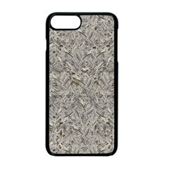 Silver Tropical Print Apple Iphone 7 Plus Seamless Case (black) by dflcprints