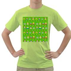 Circus Green T Shirt by Valentinaart