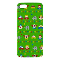 Circus Apple Iphone 5 Premium Hardshell Case by Valentinaart