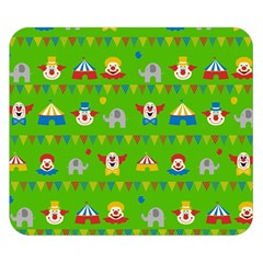 Circus Double Sided Flano Blanket (small)  by Valentinaart