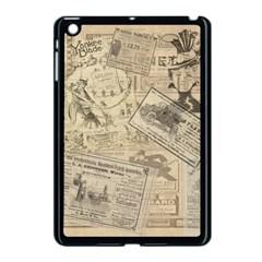 Vintage Newspaper  Apple Ipad Mini Case (black) by Valentinaart