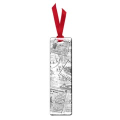 Vintage Newspaper  Small Book Marks by Valentinaart