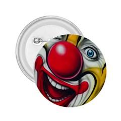 Clown 2 25  Buttons by Valentinaart