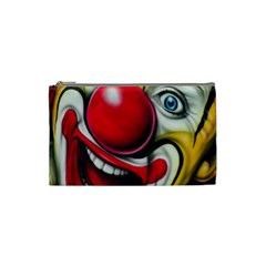 Clown Cosmetic Bag (small)  by Valentinaart