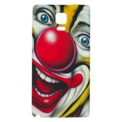 Clown Galaxy Note 4 Back Case by Valentinaart