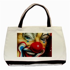 Clown Basic Tote Bag (two Sides) by Valentinaart
