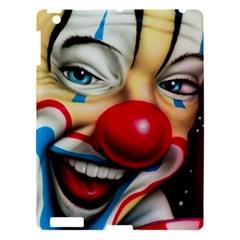 Clown Apple Ipad 3/4 Hardshell Case by Valentinaart