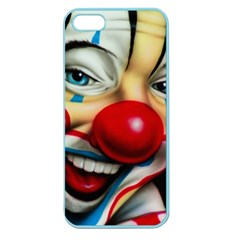 Clown Apple Seamless Iphone 5 Case (color) by Valentinaart