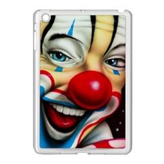 Clown Apple Ipad Mini Case (white) by Valentinaart