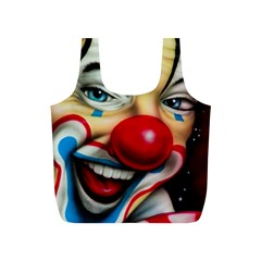 Clown Full Print Recycle Bags (s)  by Valentinaart