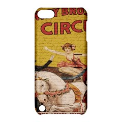 Vintage Circus  Apple Ipod Touch 5 Hardshell Case With Stand by Valentinaart